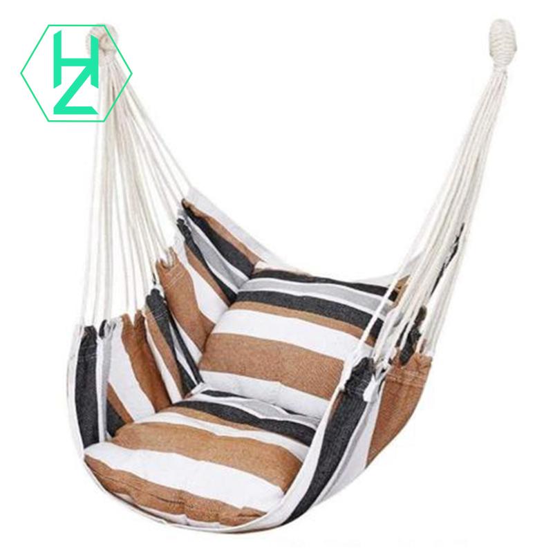 Hammock Chair Hanging Rope Swing Seat For Indoor Outdoor Shopee Indonesia