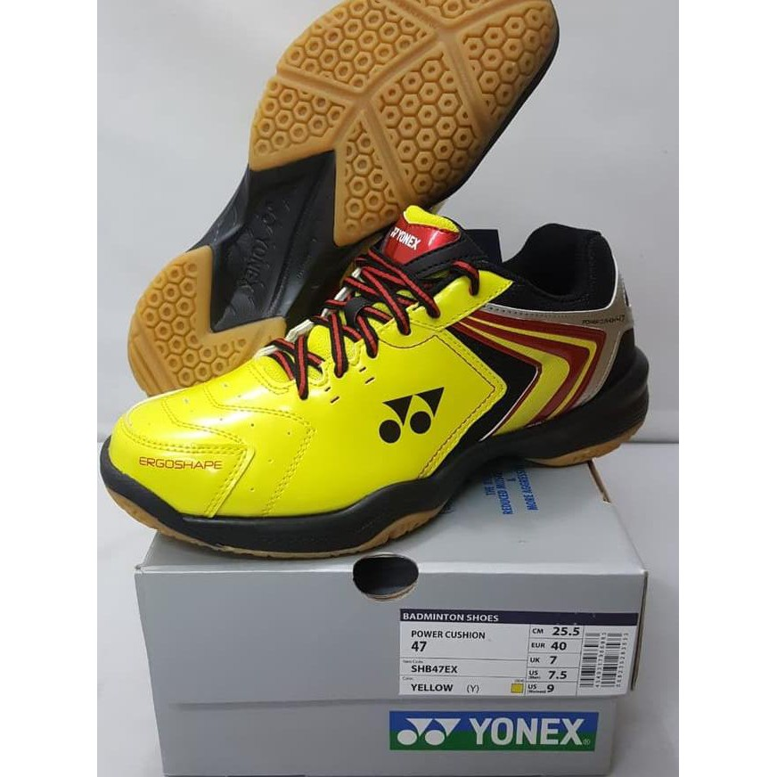 Paling Laris Sepatu Badminton Yonex Shb 47 Ex Original