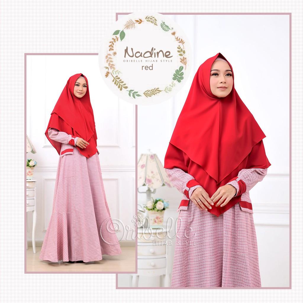 Gamis Set Beryl Millo BER1 Original Oribelle Hijab Style | Shopee Indonesia