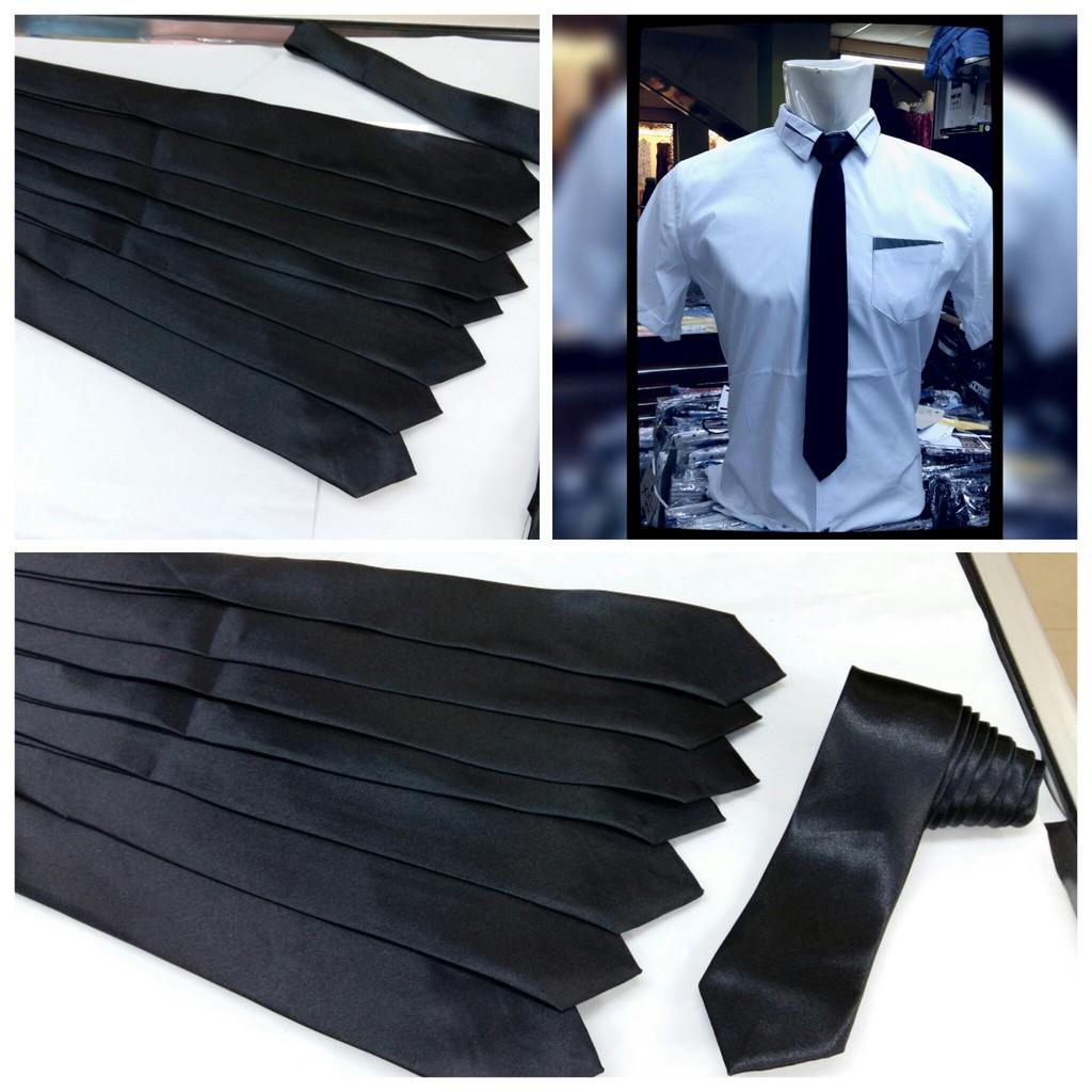 Dasi Import Panjang Pria Merah Garis Pin Tie Jepit Slim Silver Gold 7 Shopee Indonesia