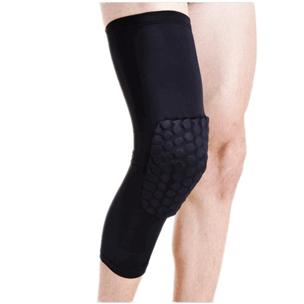 Knee Pad Kneepad Leg Sleeve Legsleeve Pelindung Lutut Pads Support Deker Dengan Magnet Basket Protector Shopee Indonesia