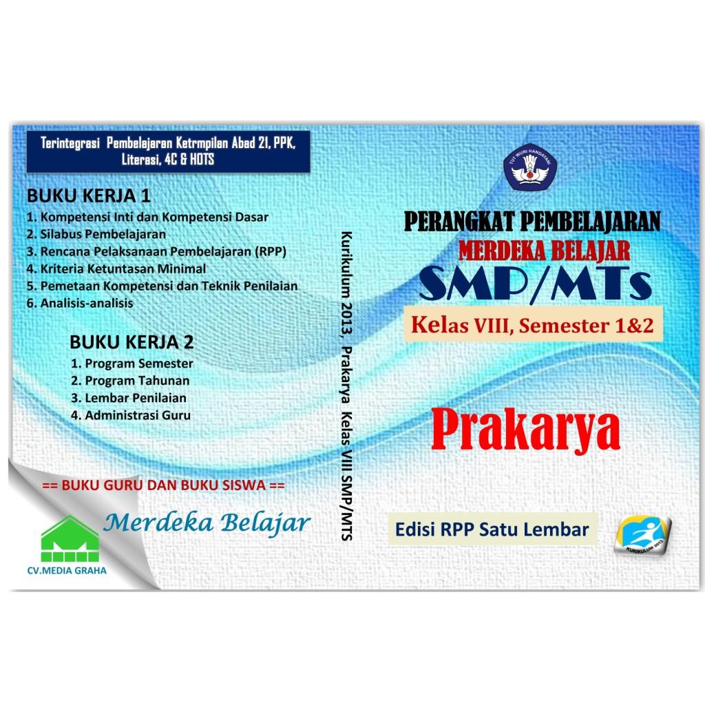 Cd Rpp Prakarya Smp Kelas 8 Revisi 2020 Terbaru Termurah Terlaris Shopee Indonesia