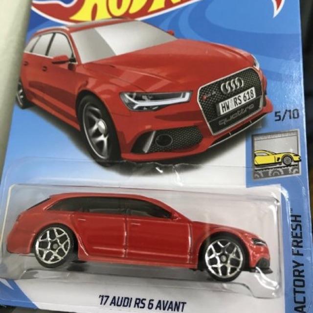 Hot Wheels 2017 Audi RS6 Avant   Shopee Indonesia