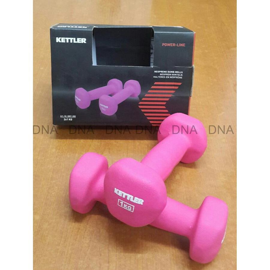 Kettler Neoprene Dumbbell 2kgpair 2x 1kg Dumbell Senam Aerobic Dan Rawt 11154 Reebok 4kg Per Pair 2kg Pink Shopee Indonesia