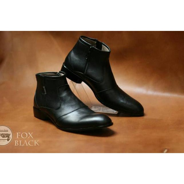 ( BigSale ) sepatu formal pria pantofel megan hight zipper original chevany  .  a31b6a7da6