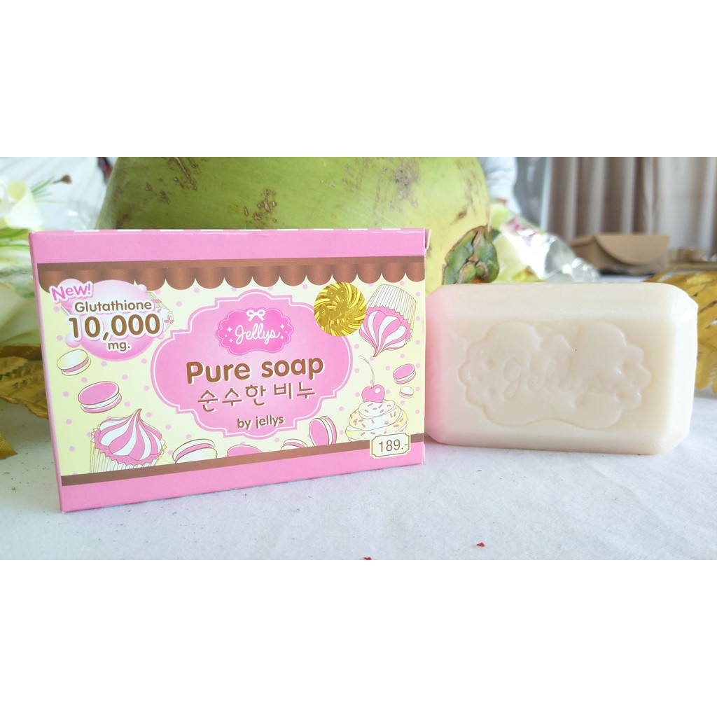 Pure Soap Bpom By Jellys Body Original Shopee Indonesia