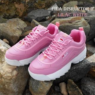 Perbandingan harga Fila Disruptor Gen 2 made in Korea - Sepatu Sneakers  Wanita import Kualitas Premium lowest price - only 117.480Rp cfe2d612d3