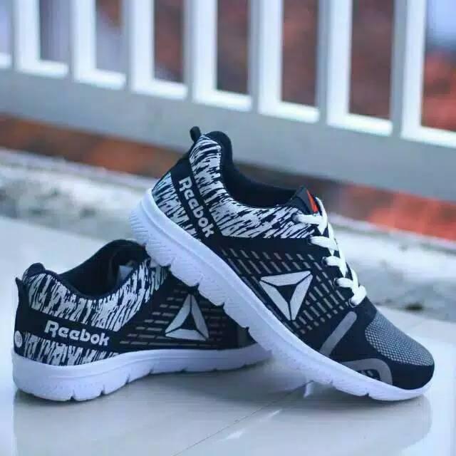Sepatu Pria Reebok Running Kw Super Shopee Indonesia