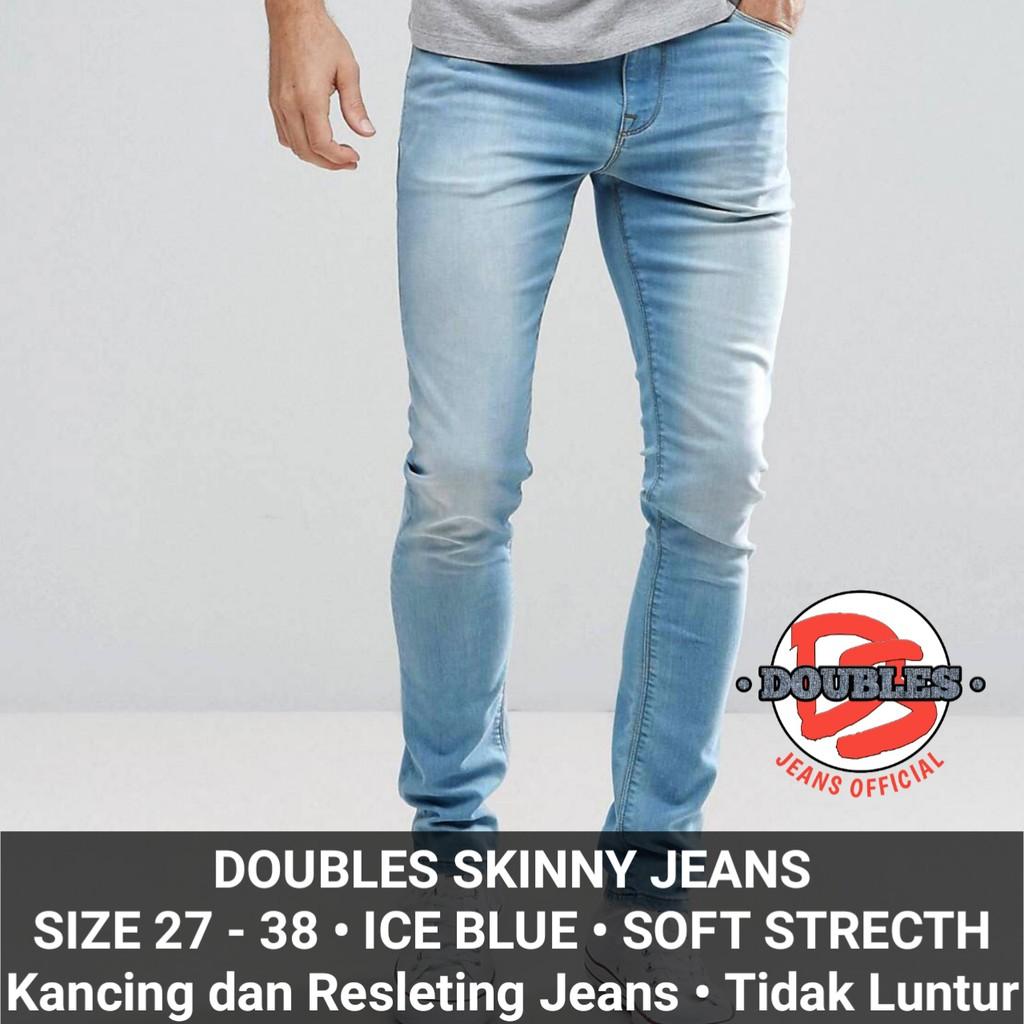 Jeans Hw Navy Wanita Cewek High Waist Softjeans Kancing 5 | Shopee Indonesia
