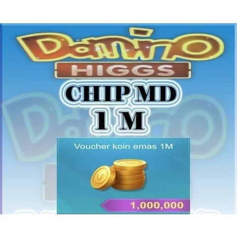 Koin Coin Chip MD 1M Higgs Domino Island