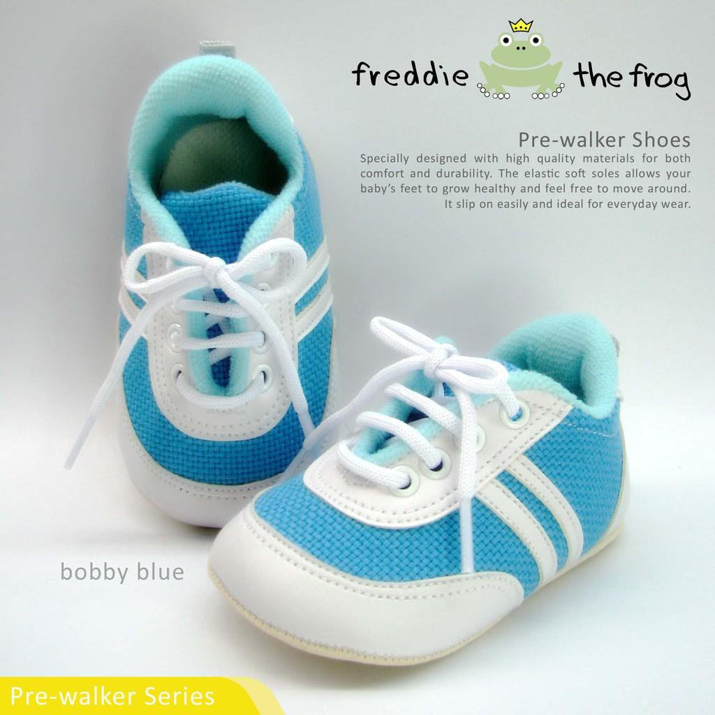 Sepatu Bayi Baby Shoes Prewalker Freddie The Frog Nicole Tony Sparkly Grey Silver Shopee Indonesia