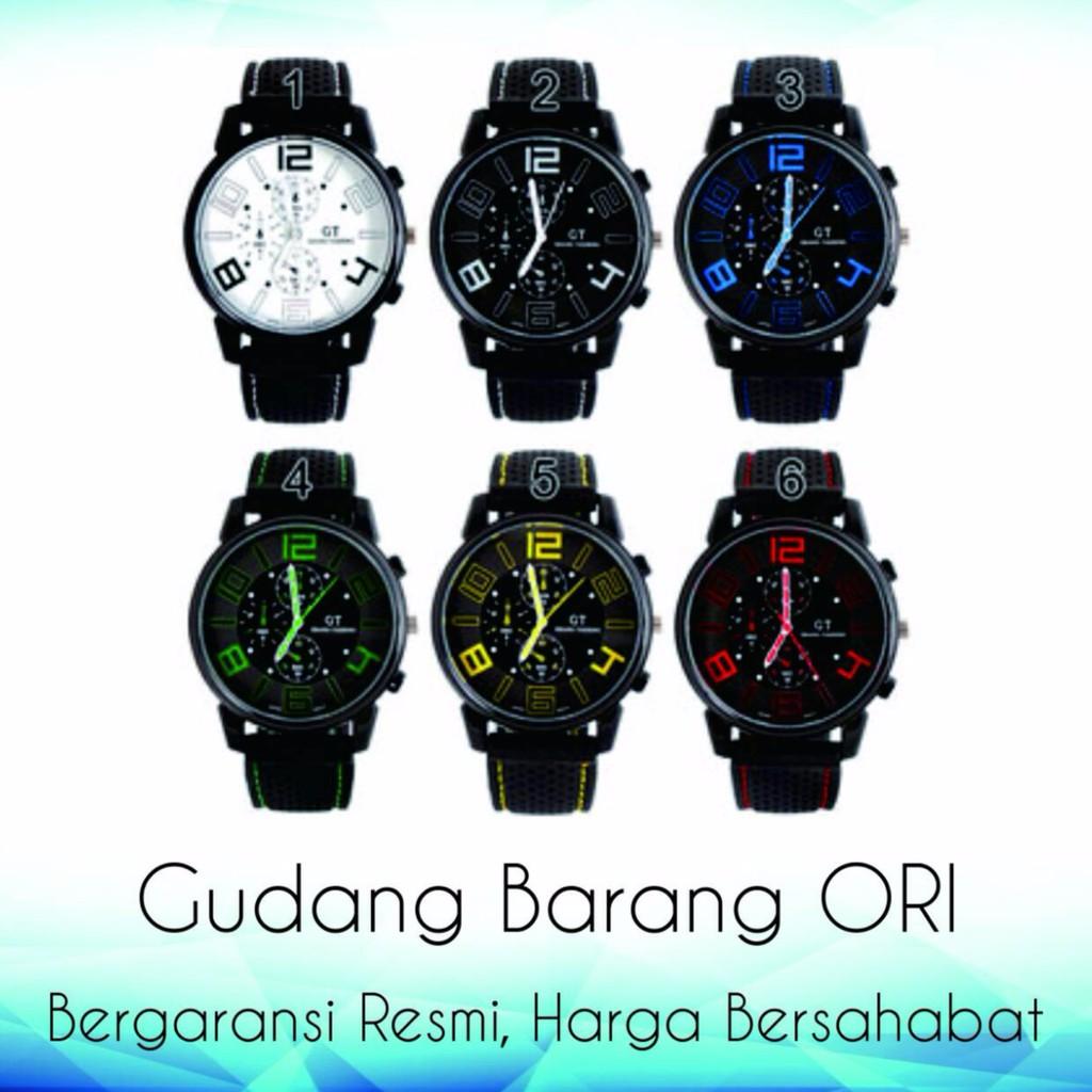 Toko Online Gudang Jam Ori Shopee Indonesia Swiss Navy Tangan Pria Coklat Orange Leather Strap Sn 8647