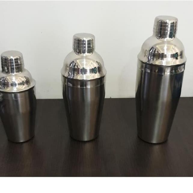 ★ 7DM Shaker Cocktail 550ml Pengocok Minuman Mixer Drink Cocktail Bar Shaker ❂  →