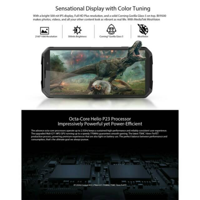 Blackview BV9500 4Gb+64Gb IP68 10000mAh Waterproof Dustproof Outdoor Phone