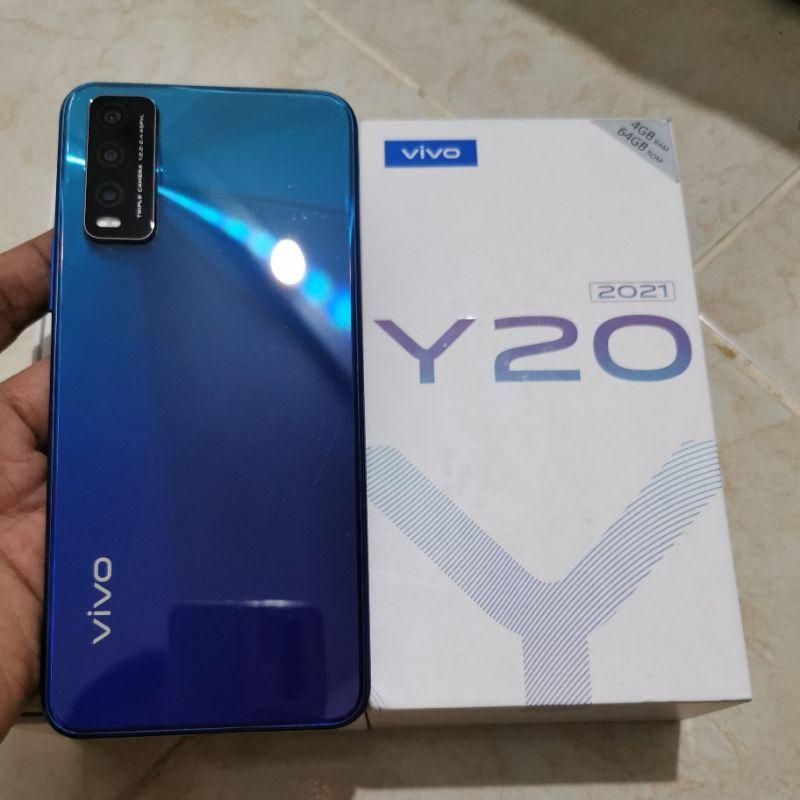 Vivo Y20 2021 4/64GB Nebula Blue Second
