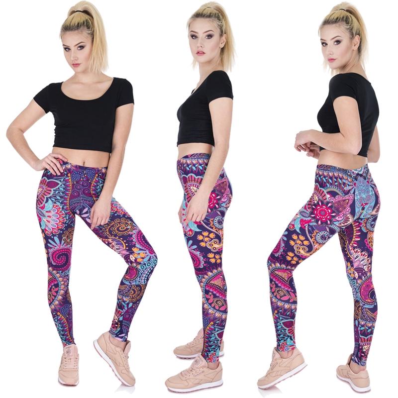 Celana Legging Panjang Wanita Motif Kartun Untuk Yoga Kerja Shopee Indonesia