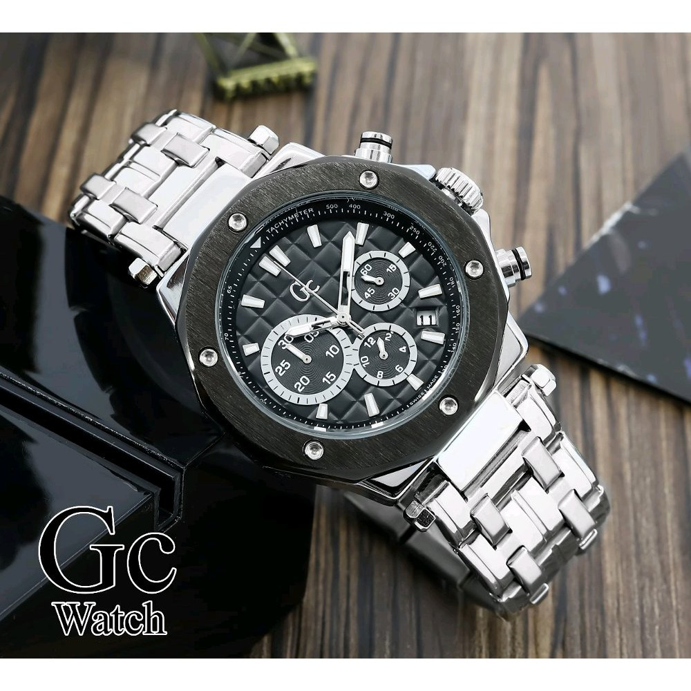 [LARIS] Jam Tangan Pria Gc Guess Collection Watch Chronograph Aktif Limited ...