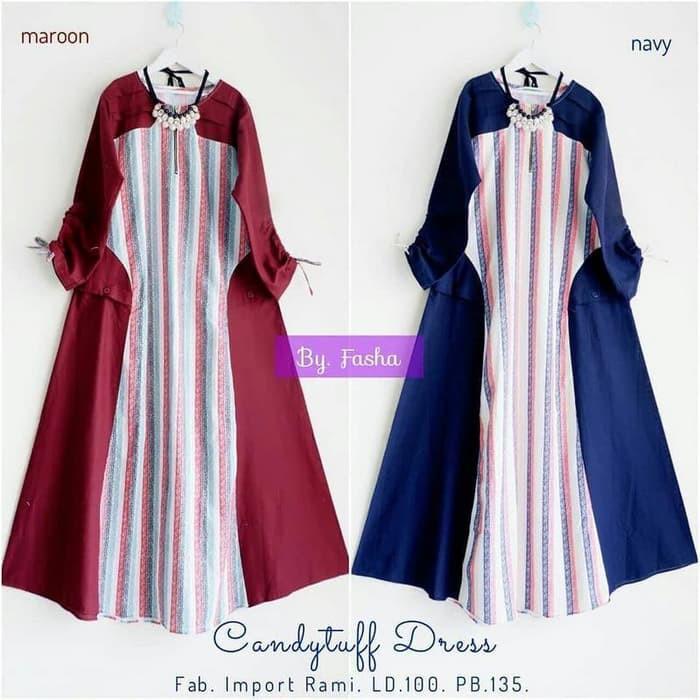 Harga Kejutan Dijual Baju Dress Wanita Baju Murah Muslim Blus Tunik