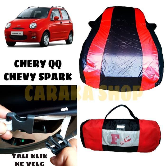 Body Cover Chery Qq Sarung Merah Penutup Bodi Mobil Qq Cover Premium Shopee Indonesia