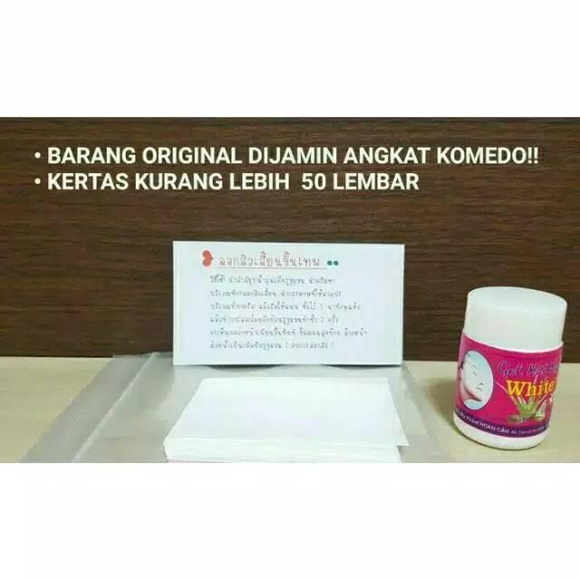 Gel Pencabut komedo / GEL MAT NA HUT MUN WHITE ORIGINAL Thailand | Shopee Indonesia