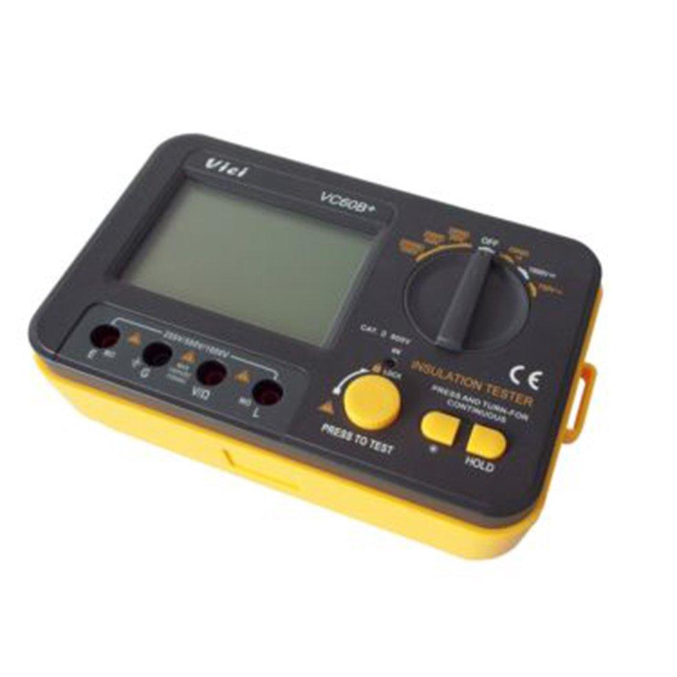 Easy And Correct Readout Vc60b Digital Insulation Tester Megger Professional M4070 Handheld Lcr Bridge Capacitance Inductance Meter Megohm Shopee Indonesia