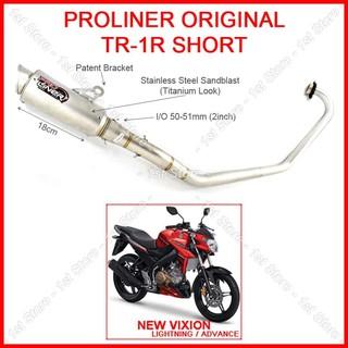 ProLiner TR1 Short New Vixion Knalpot Racing V Ixion NVA NVL