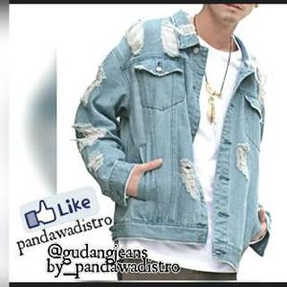 510+ Model Jaket Jeans Keren Terbaru