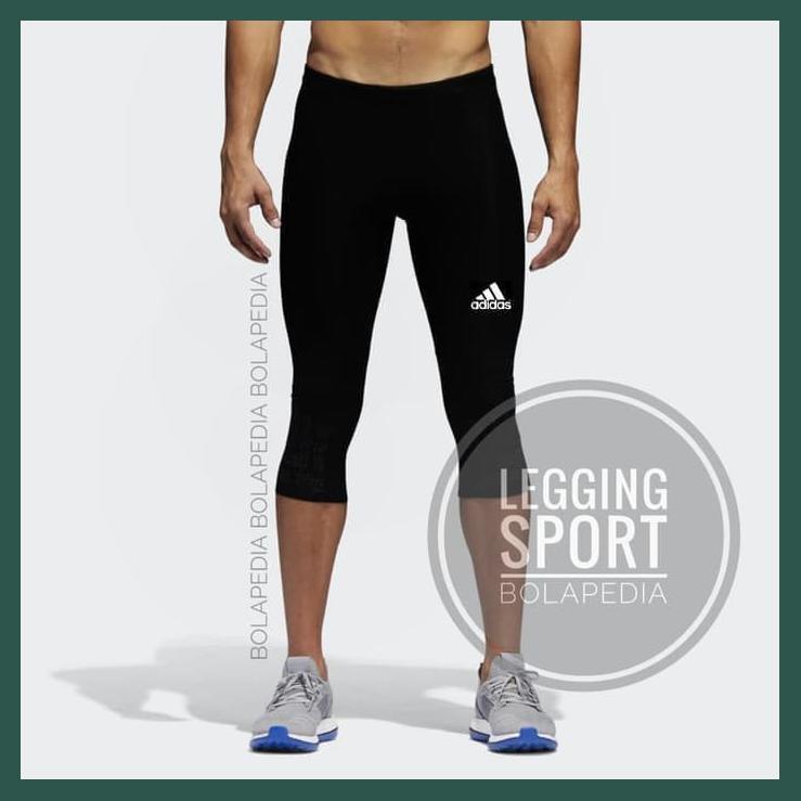 Celana Legging Sport 3 4 Celana Manset Baselayer Futsal Gym Training Shopee Indonesia