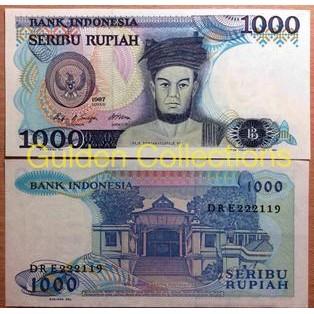 Uang Kuno 1000 Sisingamangaraja Tahun 1987 Shopee Indonesia