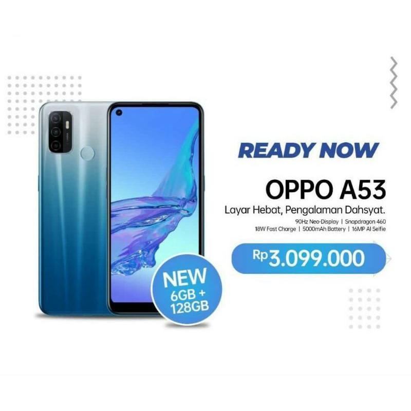 Oppo A53 ram 6Gb