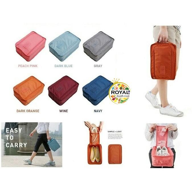 (SPT) Shoes Pouch Travel / Tas Tempat Sendal Sepatu / Shoes Bag Organizer