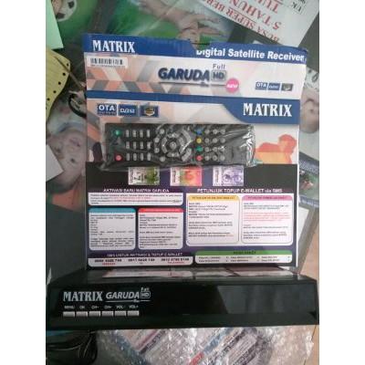 Receiver Parabola Matrix Garuda Hd Bagus Shopee Indonesia