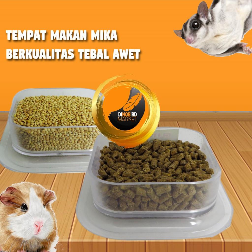 Tempat Makan Anti Tumpah Hewan Sugar Glider Hamster Shopee Indonesia 500ml