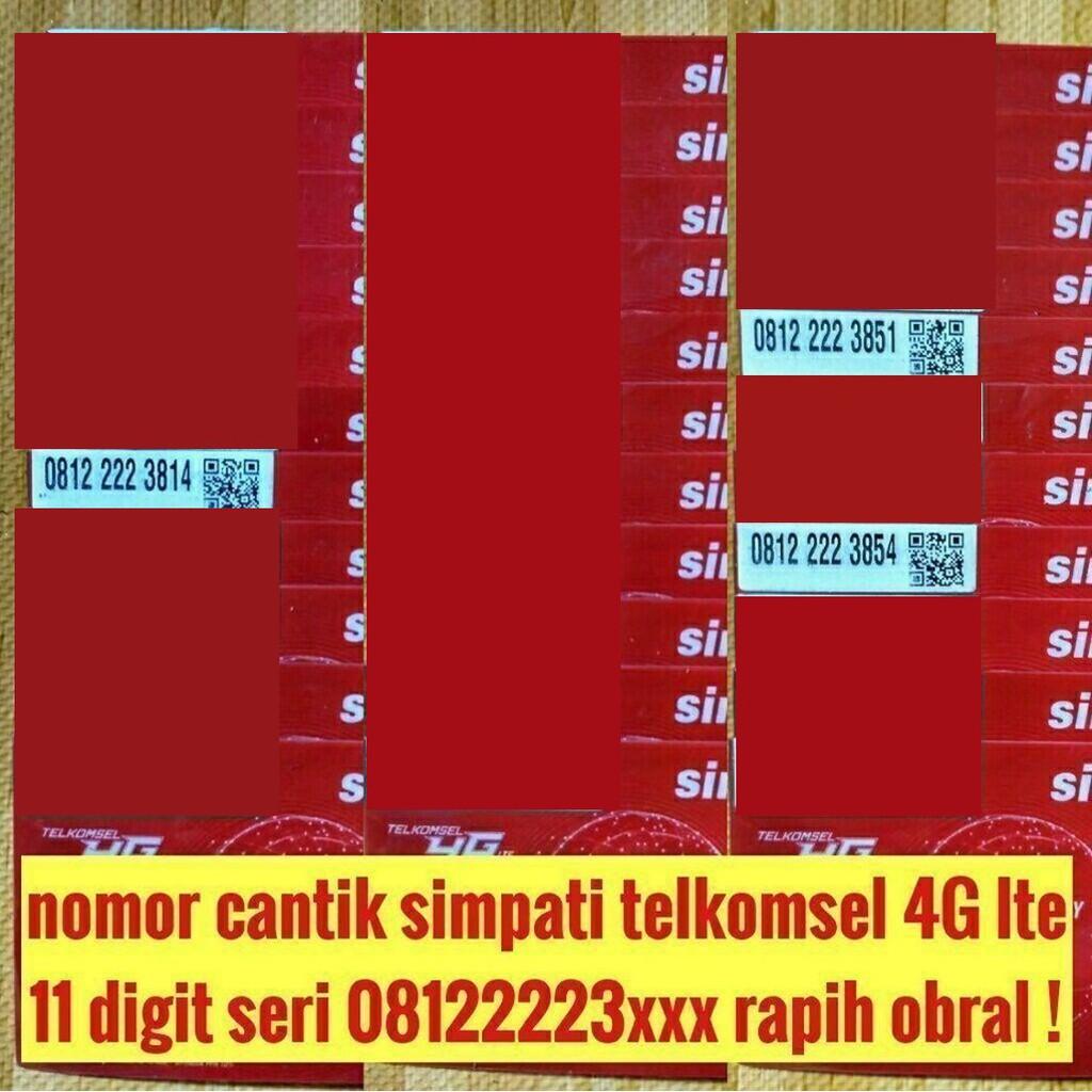 nomer cantik telkomsel XL indosat ooredoo im3 couple pasangan super ! | Shopee Indonesia