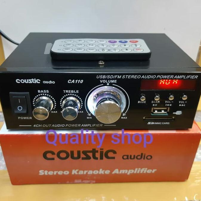 [Bayar Di Tempat]12V MP3/Radio Player Stereo USB SD AUX Input Receiver