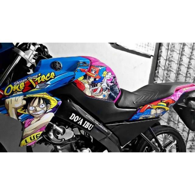 Stiker Full Motor Vixion R New Advance Full Kartun One Piece Shopee Indonesia