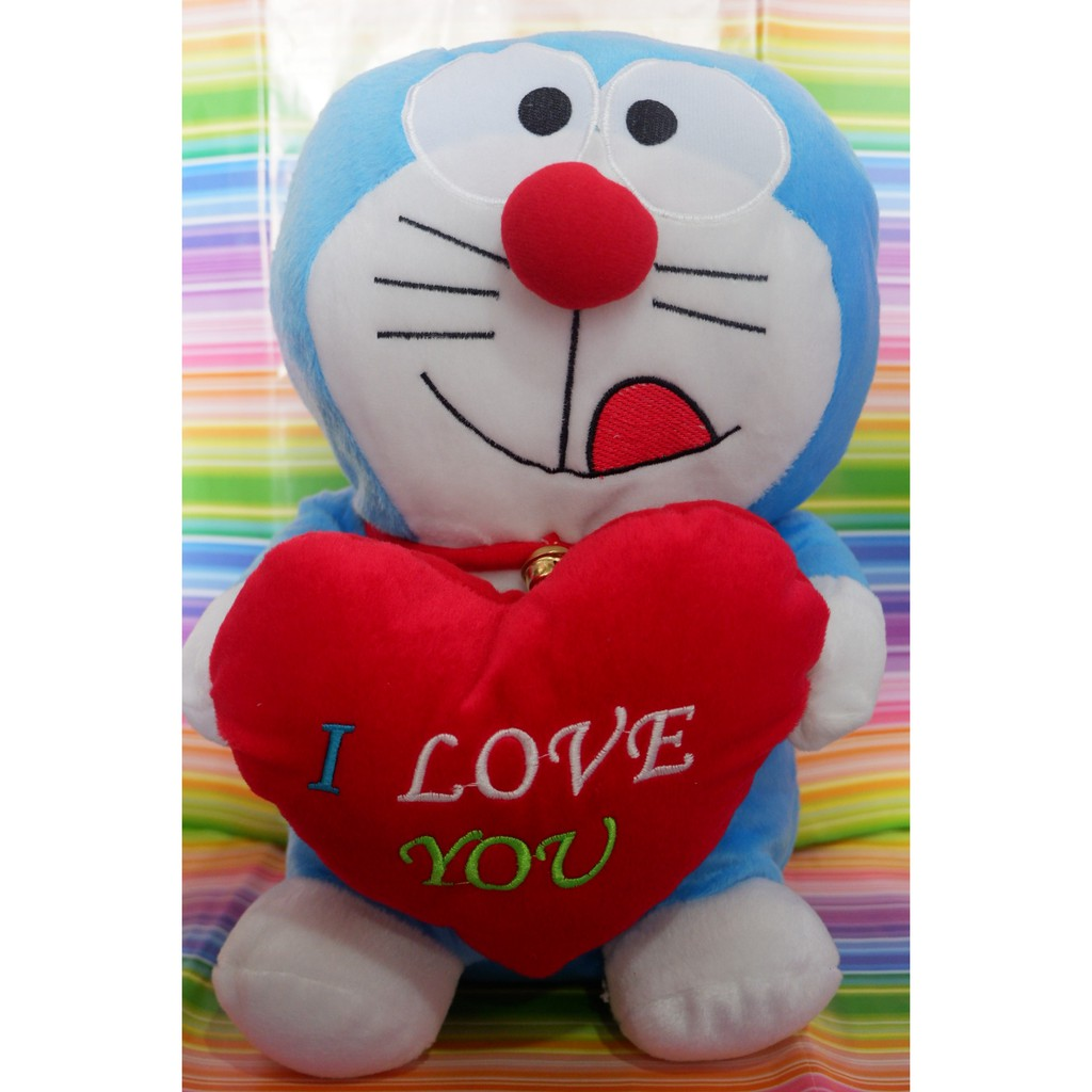 Boneka Doraemon Love / Boneka Doraemon / Boneka Murah