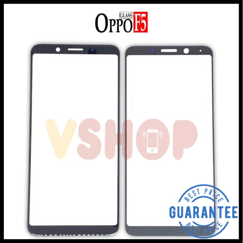 GLASS LCD KACA TOUCHSCREEN OPPO F5 OPPO F5 YOUTH OPPO F7 YOUTH Hitam Plus Oca