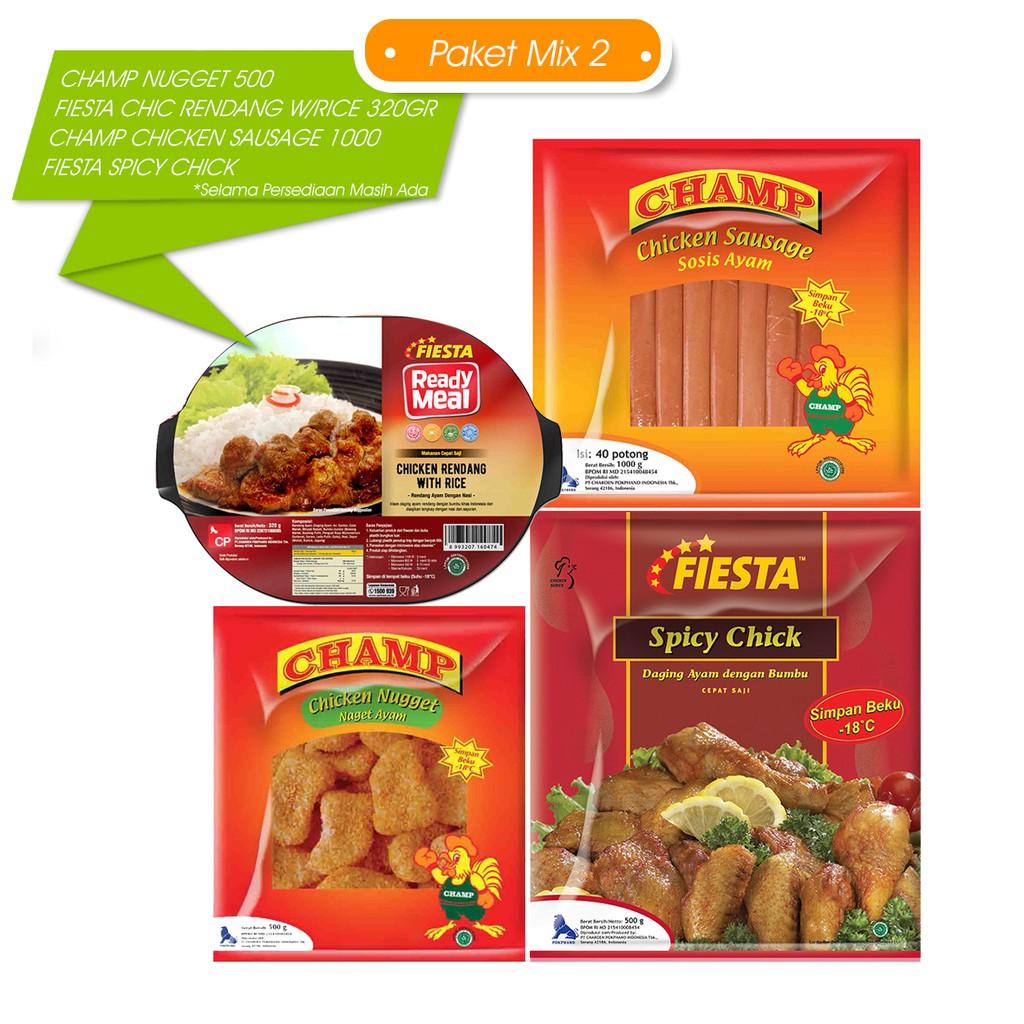 Fiesta Paket Mix 2 Makanan Instan 4 Pcs Jabodetabek Shopee