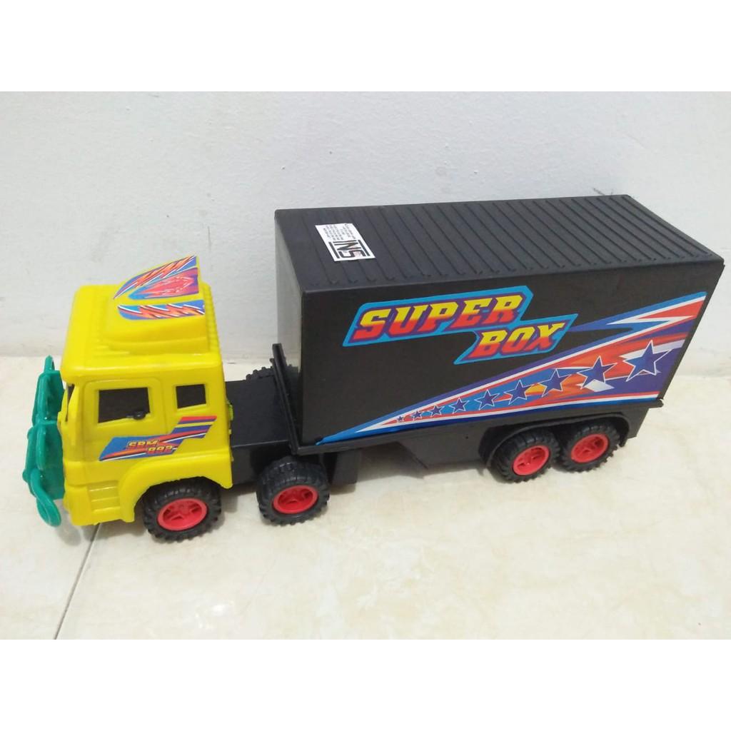 Mainan Mobil Kontainer Super Box Shopee Indonesia