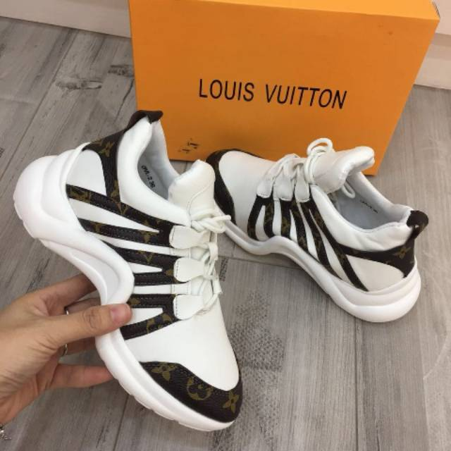 ab383065eac SEPATU BRANDED IMPORT || Louis Vuitton LV Archlight Sneakers Monogram + Box