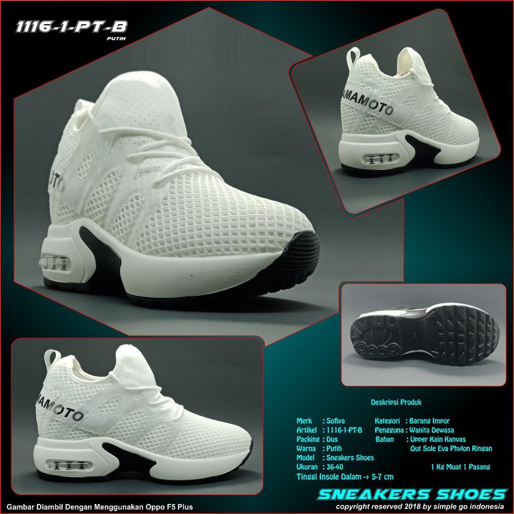 Sepatu Sneakers Wanita 1800 3b Import 36 40 - Smart4K Design Ideas f608e9e529