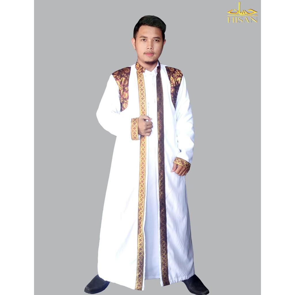 Jubah Baju Pria Pengantin Songket By Hisan
