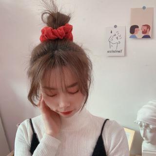 Ikat Rambut Simple Gaya Korea Retro Untuk Wanita   Shopee ...