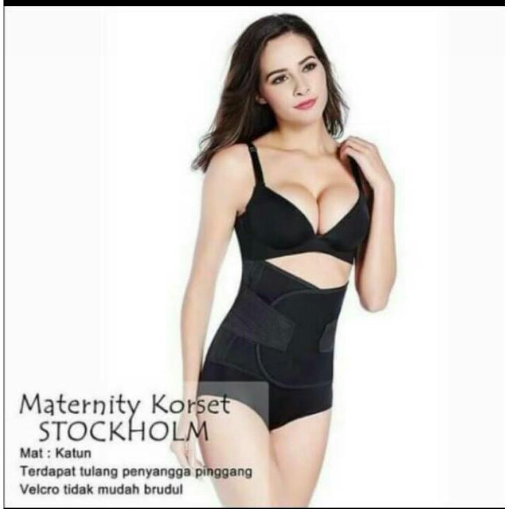 Korset Pelangsing Pasca Melahirkan model Pengait dan Perekat Korset Ibu Stagen  Ibu Korset Jumbo  ce0a378c9b