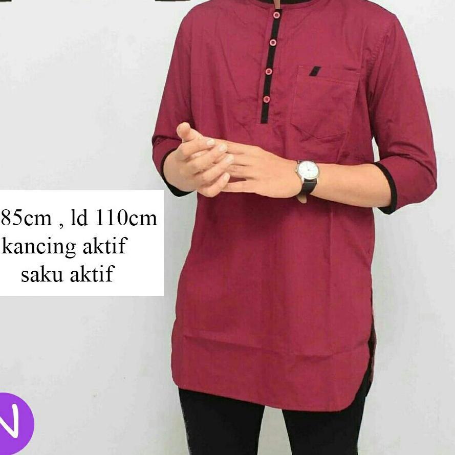 baju koko panjang - Temukan Harga dan Penawaran Atasan Muslim Pria Online Terbaik - Fashion Muslim