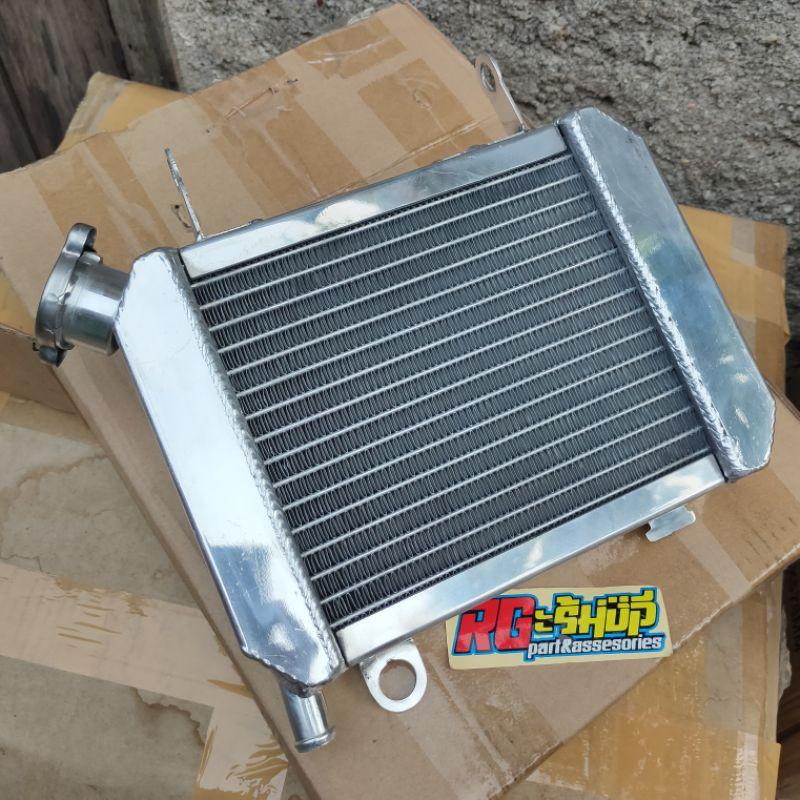 radiator almu almunium alumunium polish SPAC DKT honda CBR 150 old CBU original thailand