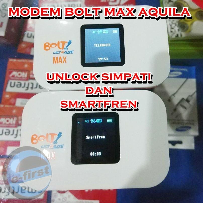 modem bolt aquila max UNLOCK GSM bisa Smartfren Simpati 4,5g 4G+ | Shopee Indonesia