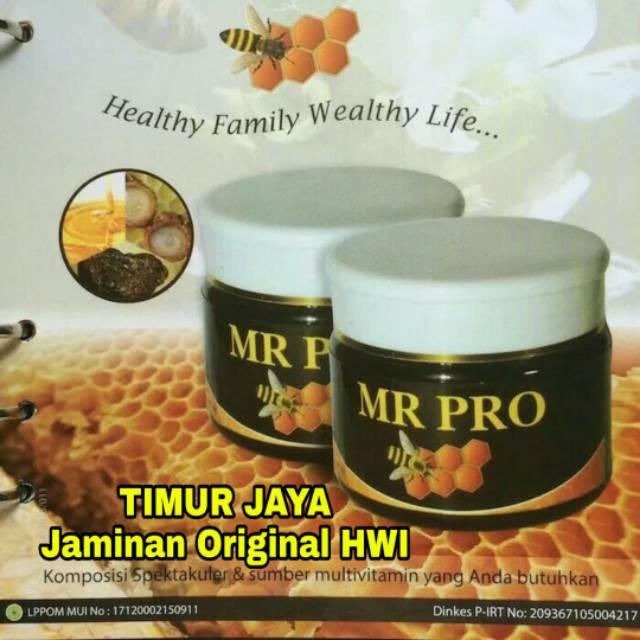 MR PRO Madu Penggemuk Dan Penambah Berat Badan Original HWI   Shopee Indonesia