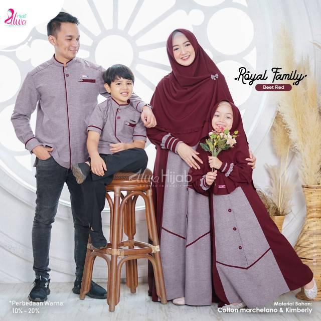 Sarimbit Royal Family Alwahijab Shopee Indonesia